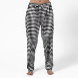 Easy Fit 2 Pc. Flannel Pyjamas with Bear Logo in Small Buffalo Check
