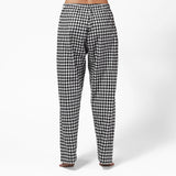 Easy Fit 2 Pc. Flannel Pyjamas with Loon Logo in Small Buffalo Check