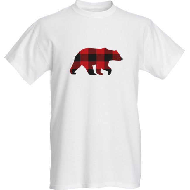 Mens Red Bear T-Shirt