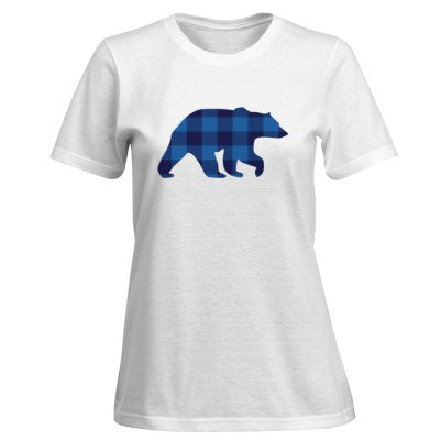 Ladies Blue Bear T-Shirt