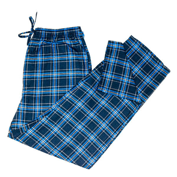 Men's Flannel Lounge Pant / Marine Navy Blue