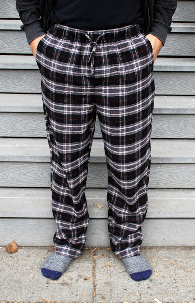 Flannel Pant in Black