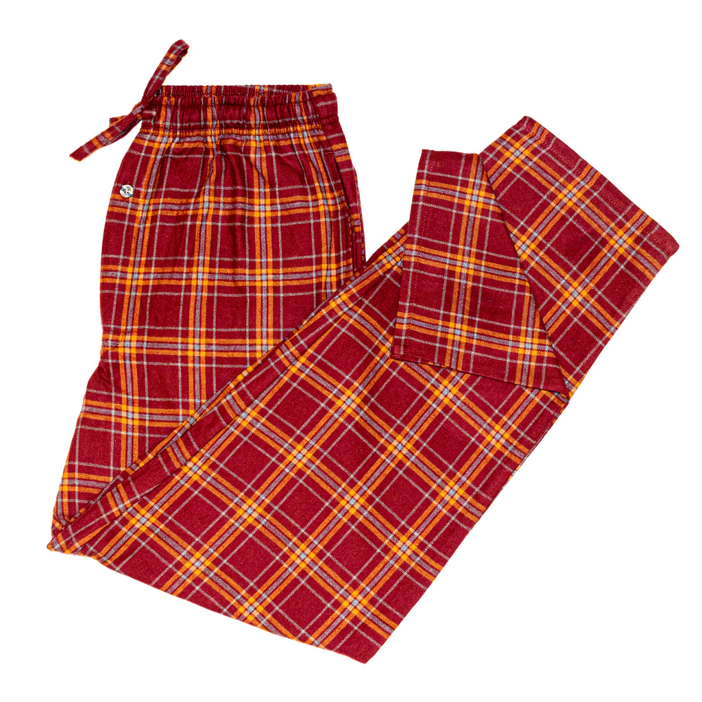 Men's Flannel Lounge Pant / Vintage Port