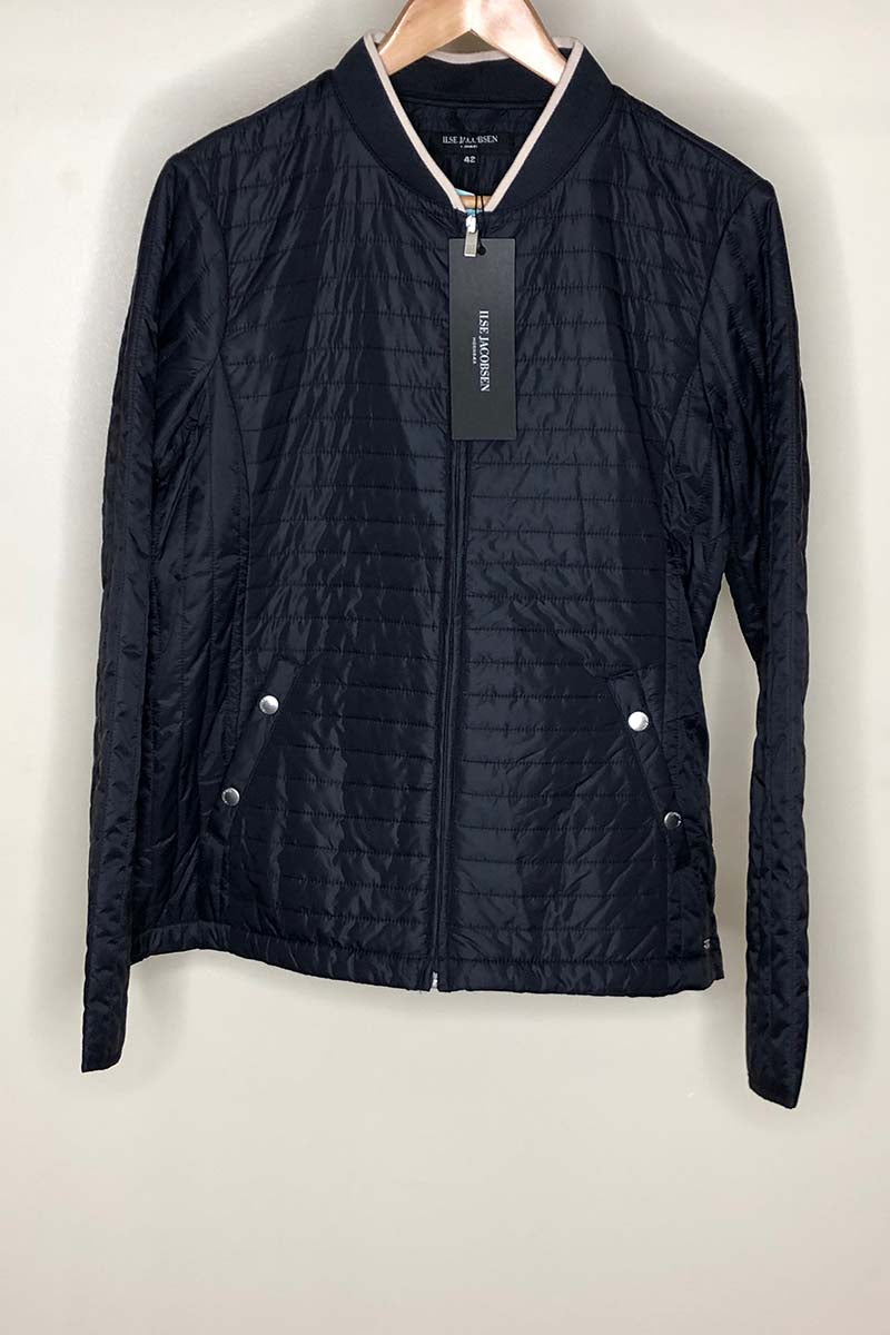 Isle Jacobsen - Light Quilt Jacket - Dark Indigo