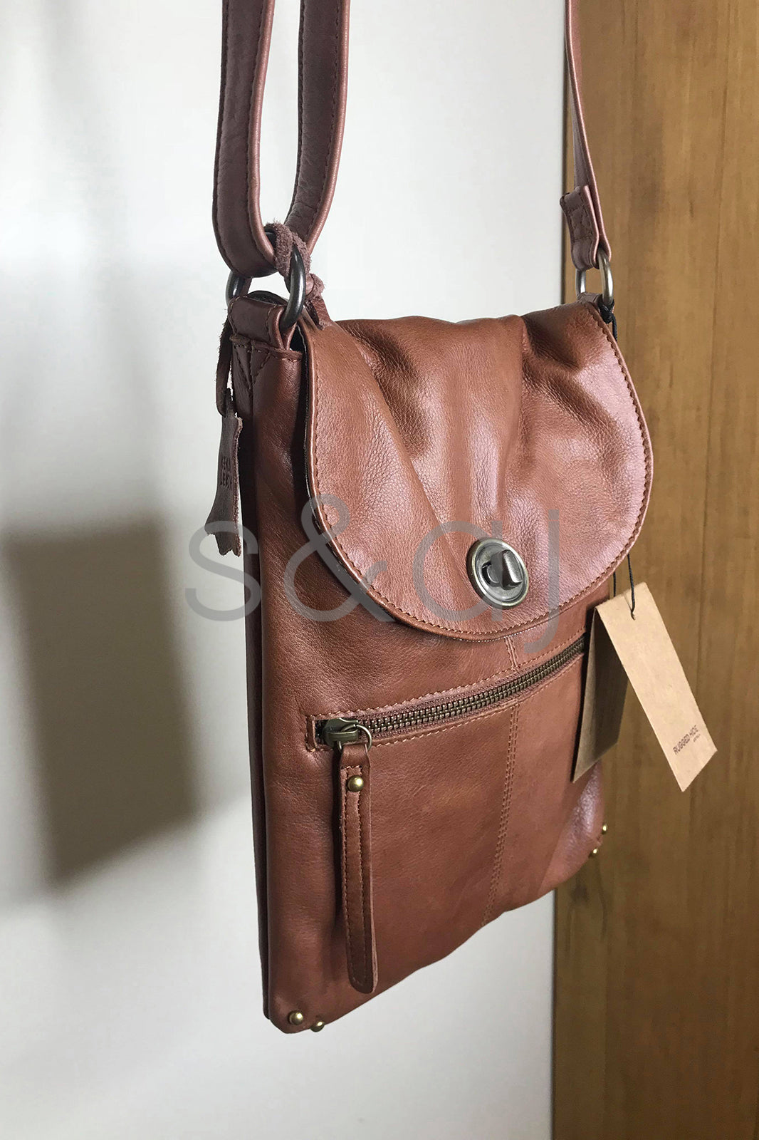 Rugged Hide - Tayla Bag - Brown