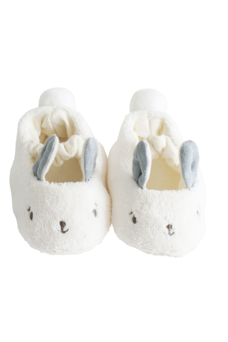 Alimrose - Snuggle Bunny Slippers Grey