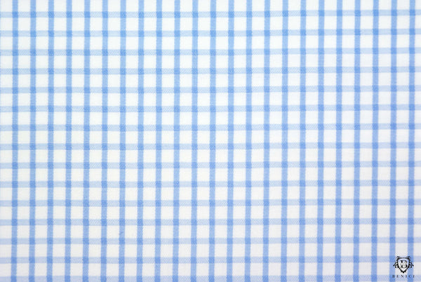 """Geronimo"" - Checkered Blue Shirt"