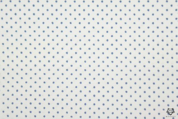 """Tullio"" - Dotted White Shirt"