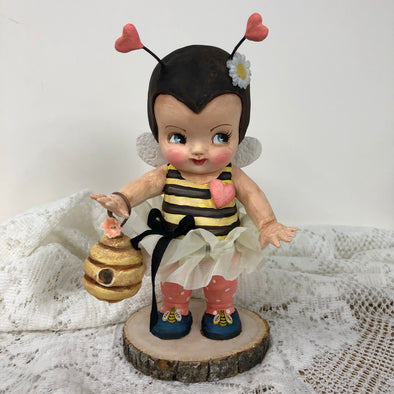 Kewpie custom Art Doll