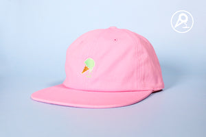 FWESH RELEASE: Pink Mint Dipped Cone Dad Hat