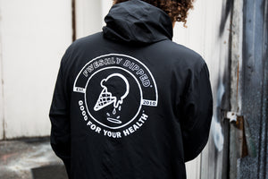 FWESH RELEASE: DIPPED Emblem Windbreaker