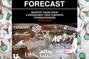 FORECAST INDUSTRY TRADE SHOW AND PRO/AM BEST TRICK