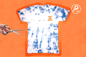FWESH RELEASE: GOOD FOR YOUR HEALTH Tie Die