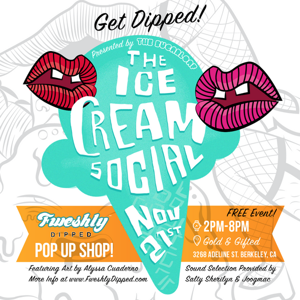 FweshlyDipped Ice Cream Social