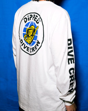 dipped dive crew long sleeve