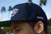 Fweshly Dipped Navy Logo Snapback