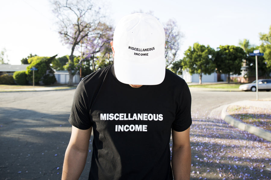 MISC Income White Dad Hat