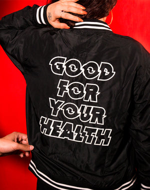 DIPPED Good Health Bomber Jacket