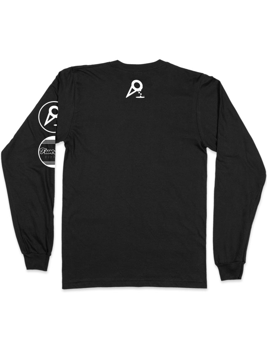 DIPPED lines long sleeve