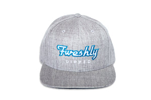 Fweshly Dipped Grey OG Snapback