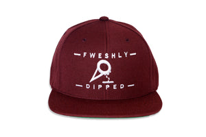 Maroon DIPPED® Cone Snapback