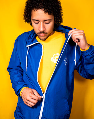 DIPPED® Royal Emblem Windbreaker