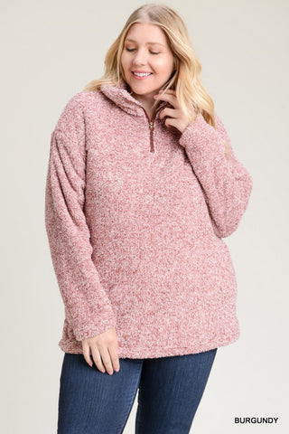 Wine On Sherpa Pullover