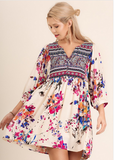 Bright Blossoms Tunic
