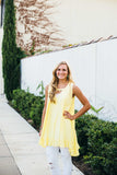 Lemon Drop Tunic Dress