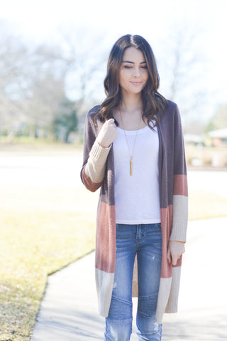 Color Me Beautiful Cardigan