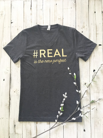 REAL is the new perfect Tee
