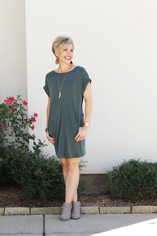 Relaxed T-Shirt Dress