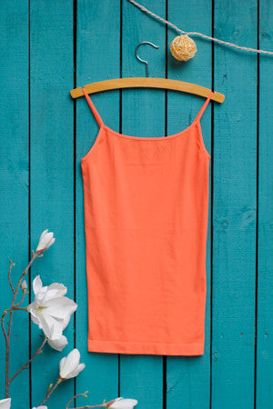 Skinny Strap Layering Tank - One Size