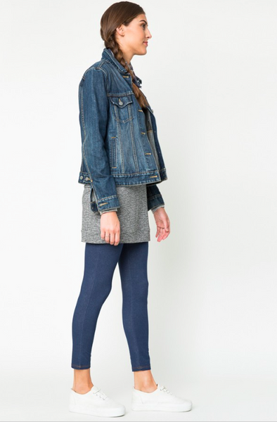 Denim Jeggings - Mid-Denim