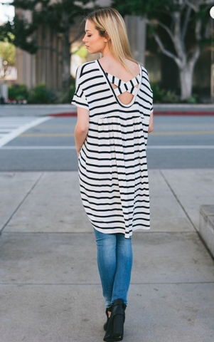 Crossing Over Tunic