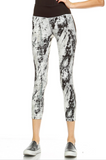 Splatter Print Leggings