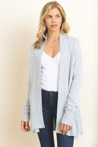 Back Me Up Sweater Cardigan