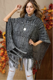 Turtle Doves Sweater Poncho