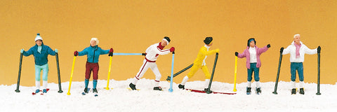 Preiser 10312 Long distance skiers