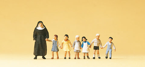 Preiser 10401 Nun with kids