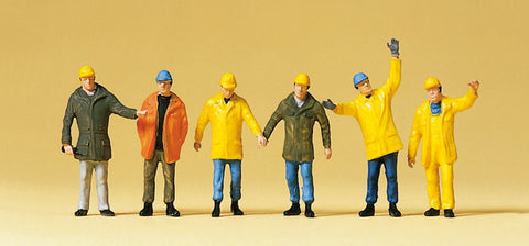 Preiser 10423 Workers in safety clothing