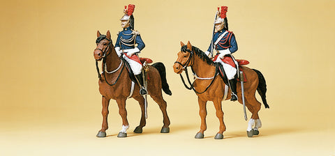 Preiser 10435 Republican Guard on horses