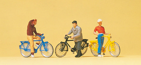 Preiser 10515 Standing Cyclists