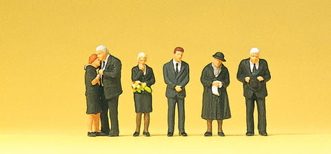 Preiser 10521 Mourning Relatives