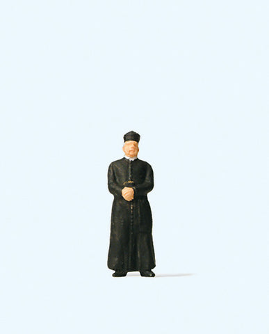 Preiser 28076 Priest wearing cassock
