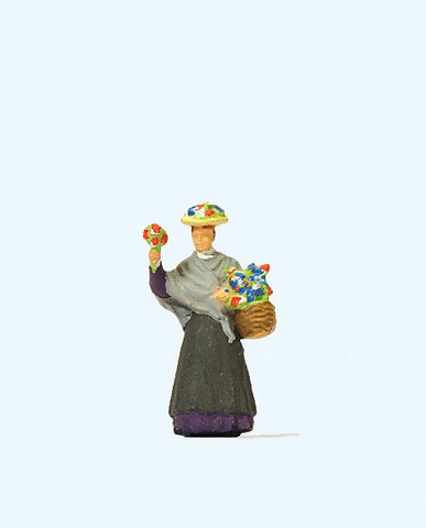 Preiser 28106 Flower Seller