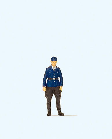 Preiser 28115 German Railway policeman, Era III