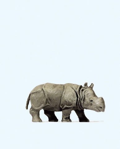Preiser 29503 Young Indian Rhino