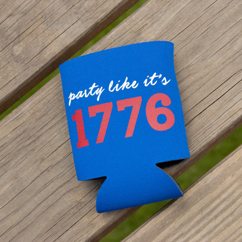 Party Like It's 1776 Coozies