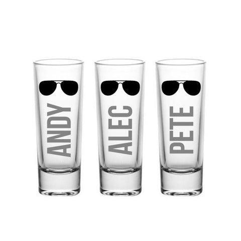 Aviator Shot Glasses